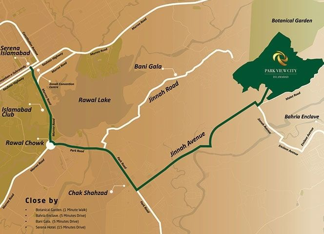 Park-View-City-Islamabad-Map