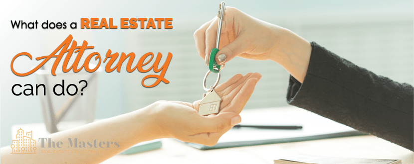 What Does a Real Estate Attorney Can Do?